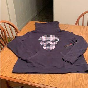 No Boundaries funnel neck sweatshirt, juniors L